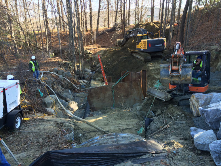 Black Mountain Road Gravity Sewer