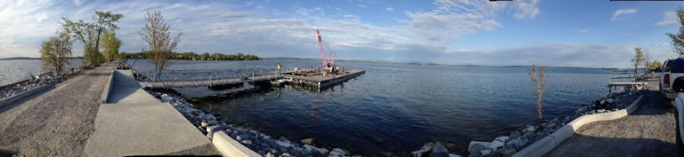 South Hero Docks & Landings for Bike Ferry on Lake Champlain VT